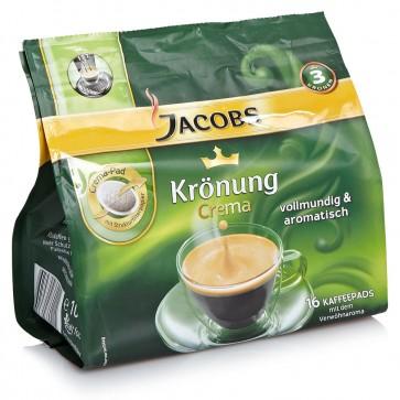 JACOBS Krönung Crema Kaffeepads - 16 Pads