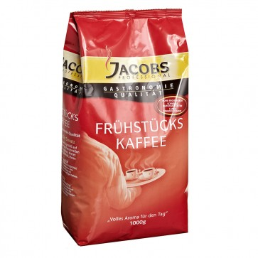 Jacobs Frühstückskaffee Kaffeepulver 1kg