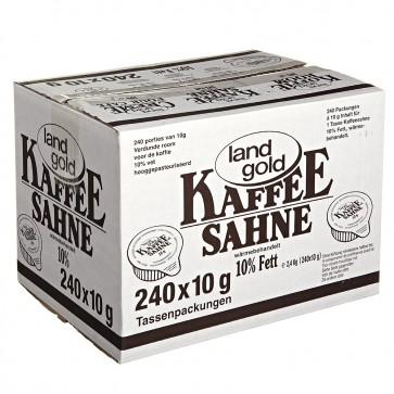 Land Gold Kaffee Sahne 10% Fett 2,4kg
