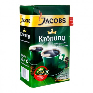 JACOBS Krönung Spitzenkaffee - Kaffeepulver 500g