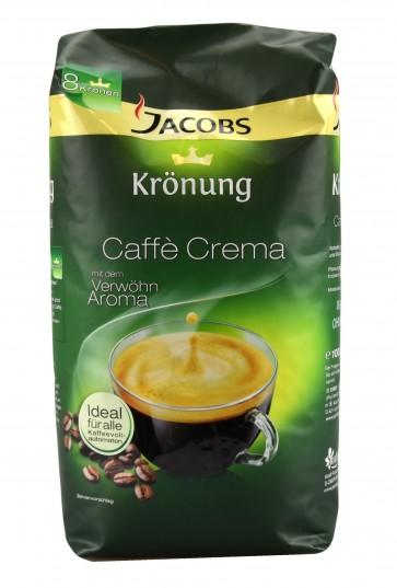 Jacobs Krönung Caffe Crema, 1kg ganze Bohnen
