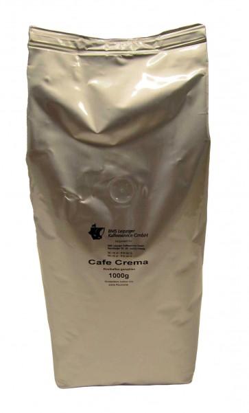 Cafe Crema Bohnen 1kg - BMS Hausmarke