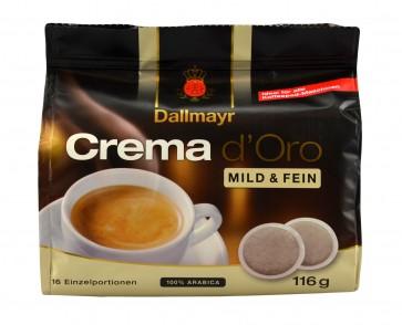 Dallmayr Crema d´Oro Mild & Fein 16 Pads
