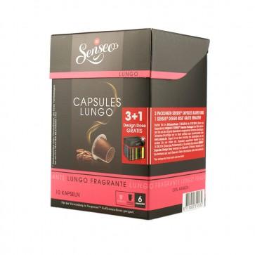 Senseo Lungo Fragrante, 10 Kapseln, 88g, Nespresso kompatibel
