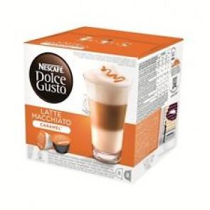 NESCAFÉ Dolce Gusto Latte Macchiato Caramel 16 Kapseln 8 Portionen