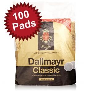 Dallmayr Classic Kaffeepads 100 Stück