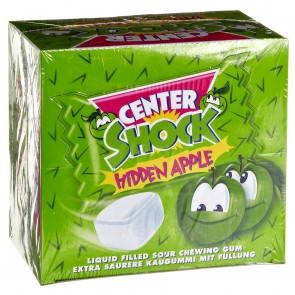 Center Shock Hidden Apple - Apfel-Kaugummi 100St.