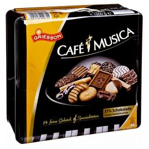 Griesson Café Musica Gebäck Keksdose 1kg