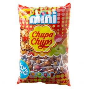 Chupa Chups Lollipops Mini - Mini-Lutscher 360 Stück