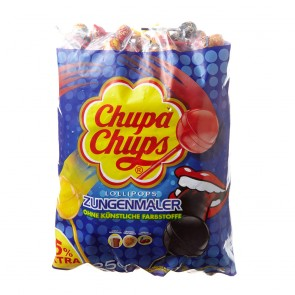 Chupa Chups Lollipops Zungenmaler o. künstl. Farbstoffe 250St.