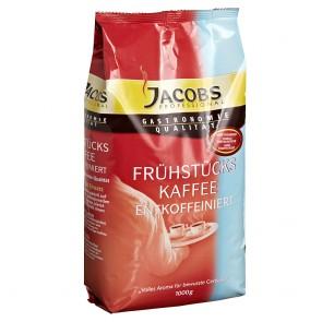 Jacobs Frühstückskaffee entkoffeiniert Kaffeepulver 1kg