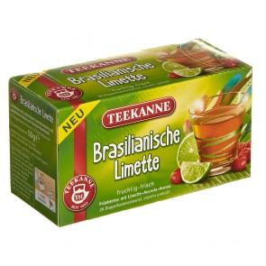 Teekanne Brasilianische Limette 20 Teebeutel - 12 Packungen