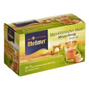Meßmer Marokkanischer Masir Minze-Honig 20 Teebeutel - 10 Pack