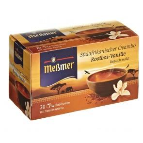 Meßmer Ovambo Rooibos-Vanille 20 Teebeutel - 10 Packungen