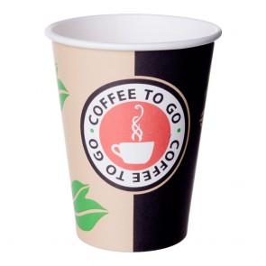 Trinkbecher Coffee To Go aus Pappe 0,3l  50 Stück
