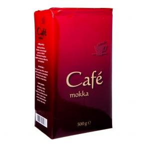 Röstfein Cafe Mokka Kaffeepulver 500g