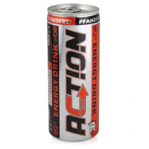 Action Energy Drink 24x250 ml - pfandfrei
