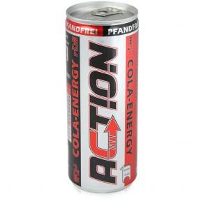 Action Cola Energy Drink 24x250 ml - pfandfrei