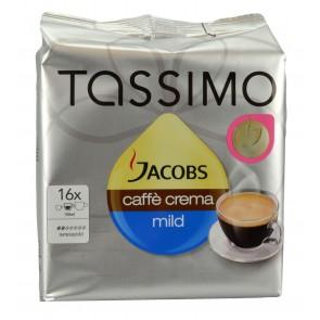 Jacobs Tassimo Caffe Crema mild - 16 Portionen
