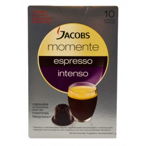 Jacobs momente espresso intenso - 10 Kapseln