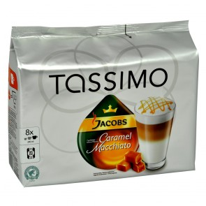 TASSIMO JACOBS Caramel Macchiato 16 T-Discs - 8 Port.