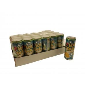 Eistee Zitrone 24 x 330 ml Dose - Pfandfrei